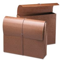 """Smead 3 1/2"""" Exp Wallets, Letter, Redrope Printed SMD71353"""