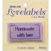 Iron-On Lovelabels 4/Pkg NOTM102061