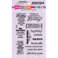 """Stampendous Perfectly Clear Stamps 4""""X6"""" Sheet NOTM477337"""