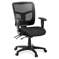 Lorell 86000 Series Managerial Mid-Back Office Chair LLR86201