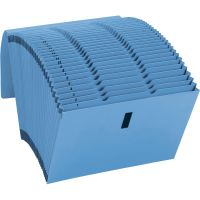 Smead Recycled WaterShed/CutLess Accordion Expanding File, Letter, Blue SMD70743