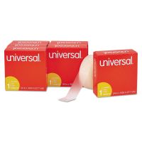 "Universal Invisible Tape, 3/4"" x 1000"", 1"" Core, Clear, 6/Pack UNV83410"