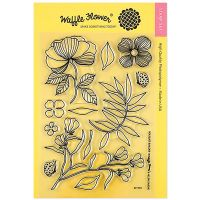 "Waffle Flower Crafts Clear Stamp 5""X7"" NOTM466549"