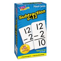 TREND Skill Drill Flash Cards, 3 x 6, Subtraction TEPT53103
