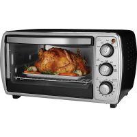 Oster 6-slice Convection Toaster Oven, Black OSRTSSTTVCGBK