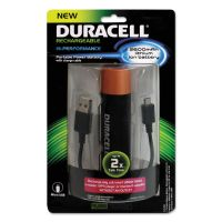 Duracell Portable Power Bank with Micro USB Cable, 2600 mAh, Red ECAPRO515