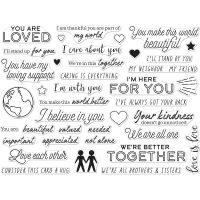 """Hero Arts Clear Stamps 4""""X6"""" NOTM496440"""