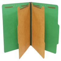 SJ Paper Standard 6-sectn Color Classifctn Folders SJPS61401