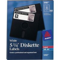 "Avery 5.25"" Diskette Labels AVE5197"