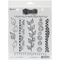 "Dyan Reaveley's Dylusions Cling Stamp Collections 8.5""X7"" NOTM222353"