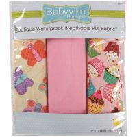 Babyville PUL Waterproof Diaper Fabric   NOTM140167