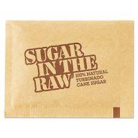 Sugar in the Raw Sugar Packets, Raw Sugar, 0.18 oz Packets, 500 per Carton SGR827749
