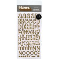 "Thickers Chipboard Stickers 6""X11"" Sheets 2/Pkg NOTM358248"