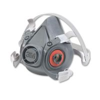 3M Half Facepiece Respirator 6000 Series, Reusable, Large MMM6300