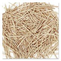 Chenille Kraft Flat Wood Toothpicks, Wood, Natural, 2500/Pack CKC369001