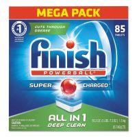FINISH Powerball Dishwasher Tabs, Fresh Scent, 85/Box FSH89729