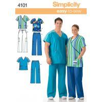 Simplicity Plus Size Scrubs NOTM495984