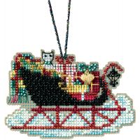 Vintage Sleigh Counted Cross Stitch Kit NOTM052782