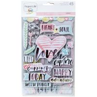 Project Life Chipboard Stickers NOTM326340