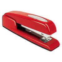 Swingline 747 Business Full Strip Desk Stapler, 25-Sheet Capacity, Rio Red SWI74736