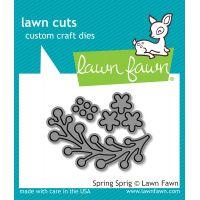 Lawn Cuts Spring Sprig Custom Craft Die NOTM367285