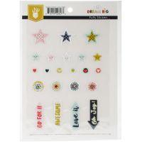 Dream Big Puffy Stickers NOTM041487