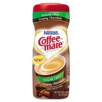 Coffee-mate Sugar Free Creamy Chocolate Flavor Powdered Creamer, 10.2 oz NES59573