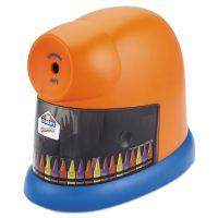Elmer's CrayonPro Electric Crayon Sharpener with Replacable Blade, Orange EPI1680