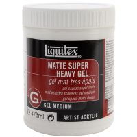 Liquitex Super Heavy Matte Acrylic Gel Medium NOTM132982