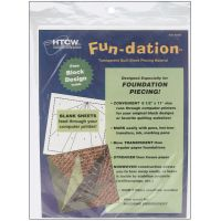 Fun-Dation Quilt Block Piecing Material NOTM102105