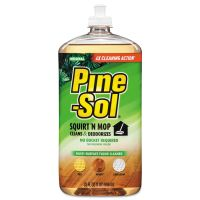 Pine-Sol Squirt 'n Mop Multi-Surface Floor Cleaner, 32 oz Bottle, Original Scent CLO97348EA