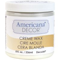 Americana Decor Creme Wax 8oz NOTM135528