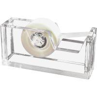 Kantek Acrylic Tape Dispenser KTKAD60