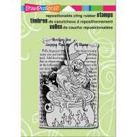 """Stampendous Cling Stamp 6.5""""X4.5"""" NOTM539995"""