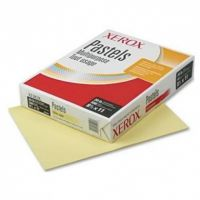 Xerox Vitality Pastel Multipurpose Colored Paper, 20 lb, 8 1/2 x 11, Yellow, 500 Sheets/Ream XER3R11053