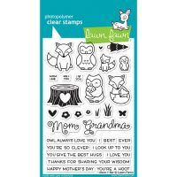 """Lawn Fawn Clear Stamps 4""""X6"""" NOTM538123"""