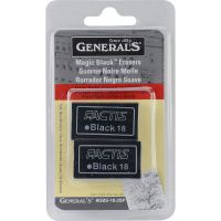Magic Black Erasers 2/Pkg NOTM386534