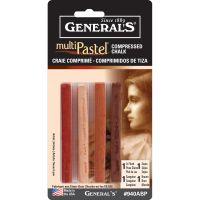 General's MultiPastel Compressed Chalk Sticks NOTM451507