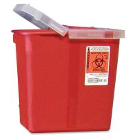 Covidien Kendall Sharps Containers with Hinged Lid CVDSRHL100990