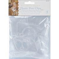 Plastic Pew Clips 6/Pkg NOTM202456