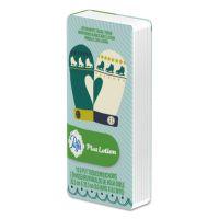"Puffs Plus Lotion Facial Tissue, White, 1-Ply, 8 1/5"" x 8 2/5"", 10/Pack, 96/Carton PGC85594CT"