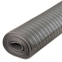 Crown Ribbed Anti-Fatigue Mat, Vinyl, 36 x 120, Gray CWNFL3610GY