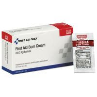First Aid Only 24 Unit ANSI Class A+ Refill, Burn Cream, 25/Box FAOG343
