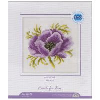 Anemone Counted Cross Stitch Kit NOTM275881