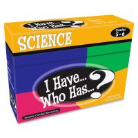 Teacher Created Resources Gr 5-6 I Have Science Game TCR7859