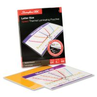Swingline GBC EZUse Thermal Laminating Pouches, 5 mil, 11 1/2 x 9, 100/Box SWI3200716