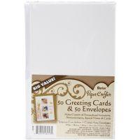 """Heavyweight A2 Cards/Envelopes (4.375""""X5.75"""") 50/Pkg NOTM096901"""
