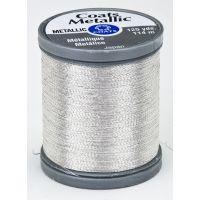 Coats Metallic Embroidery Thread - Silver (S990_9420) NOTM026624
