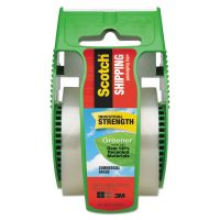 """Scotch Greener Commercial Grade Packaging Tape, 1.88"""" x 700"""", 1 1/2"""" Core, Clear MMM175G"""