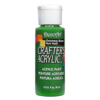 Deco Art Crafter's Acrylic Christmas Green Acrylic Paint NOTM135510